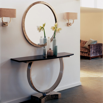 Omega Console Table - Bronze