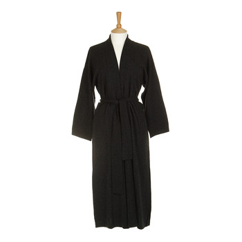 Legere 100% Cashmere Dressing Gown - Charcoal
