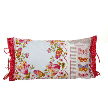 Vintage Hankies Multi Cushion - 35x60cm