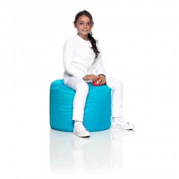 Point Pouf - Turquoise
