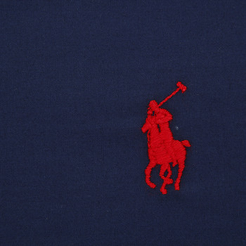 Polo Player Flat Sheet - Navy
