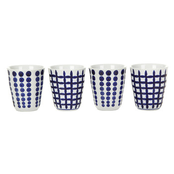 Bold Cups - Set of 4