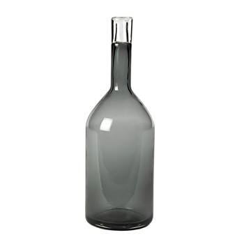Decorative Bottle - Gray