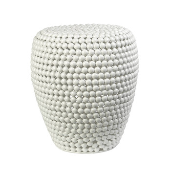 Dot Stool - White
