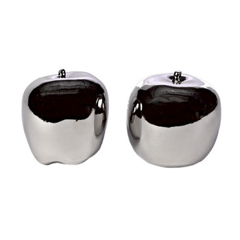 Apples - Set of 2 - Silver
