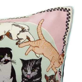 Precious Pussies Cushion