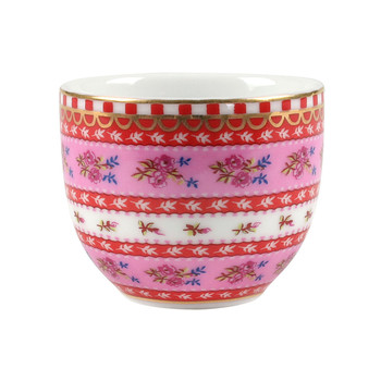 Ribbon Rose Egg Cup - Pink