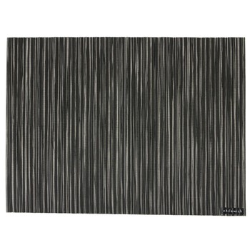 Ribweave Rectangle Placemat - Black