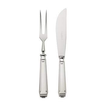 Art Deco Carving Knife & Fork