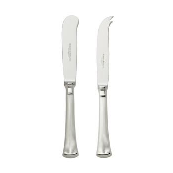 Avenue Hollow Handle Butter & Cheese Knives