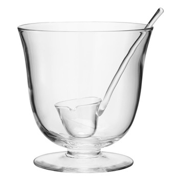Serve Punch Bowl & Ladle - 25cm