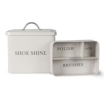Shoeshine Box - Chalk