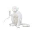 Seletti - Monkey Lamp - Sitting - White