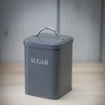 Sugar Canister - Charcoal