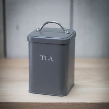 Tea Canister - Charcoal