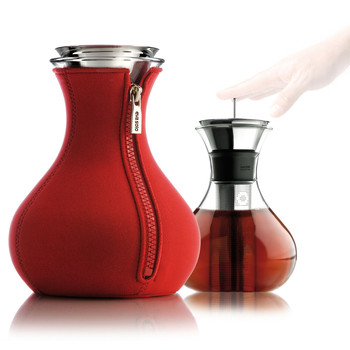 Tea Maker with Neoprene Cover - 1L - Red