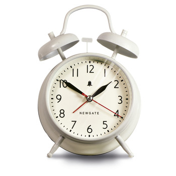The New Covent Garden Alarm Clock - Linen White