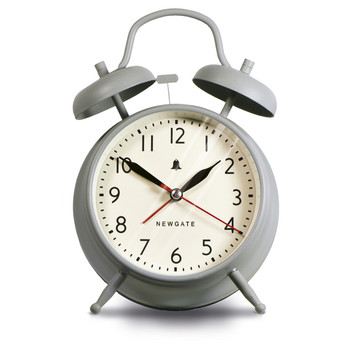The New Covent Garden Alarm Clock - Overcoat Grey