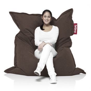 The Original Stonewashed Bean Bag - Brown