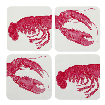 Lobster Coasters - Set of 4