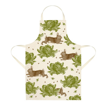 Rabbit & Cabbage Apron