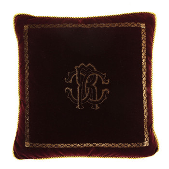 Venezia Cushion - 40x40cm - Burgundy