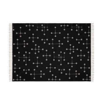 Eames Dot Pattern Blanket - Black