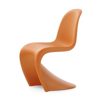 Panton Chair - Tangerine