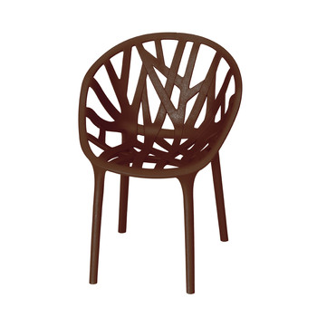Vegetal Chair - Chocolate