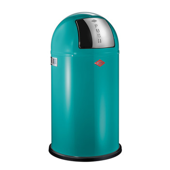 Pushboy Bin - 50L - Turquoise