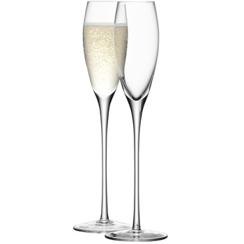 Wine Champagne Flutes - Set of 4