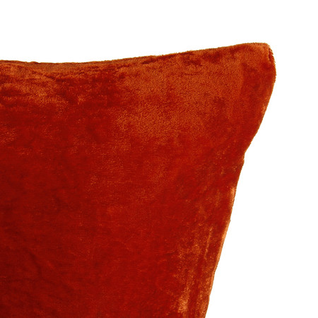 William Yeoward - Paddy Velvet Cushion - 50x50cm - Blood Orange