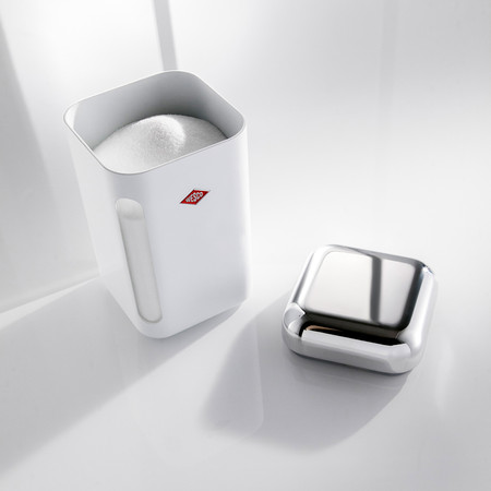 Wesco - Square Canister - 1.65L - White