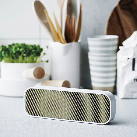 KREAFUNK - aGroove Bluetooth Speaker - White
