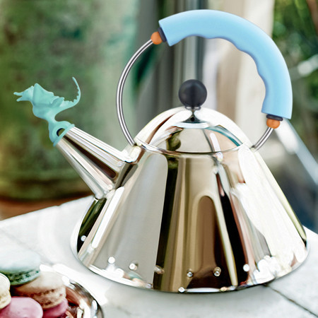 Alessi - Bird & Dragon Shaped Whistles - Gold