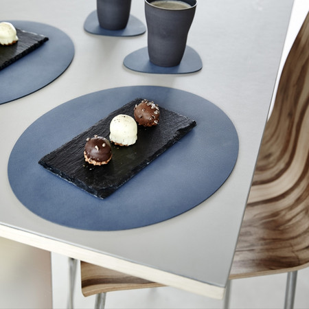 LIND DNA - Oval Table Mat - Metallic