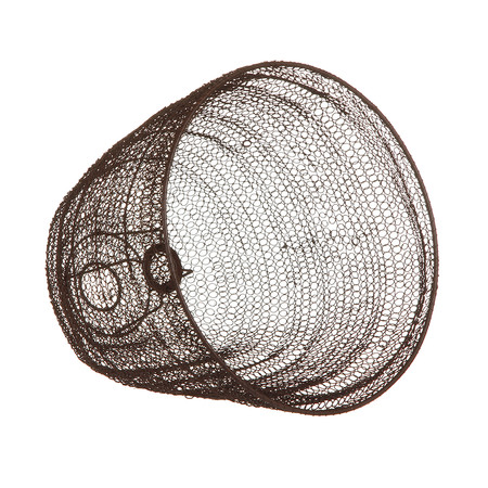 Buy nkuku jatani wire lamp shade oval amara next keyboard keysfo Images