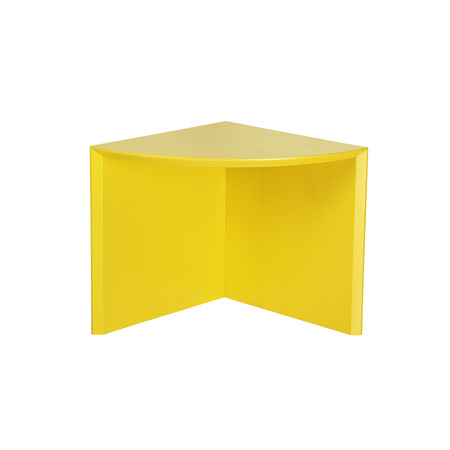 Buy h furniture pie chart system quarter table yellow for H furniture pie chart