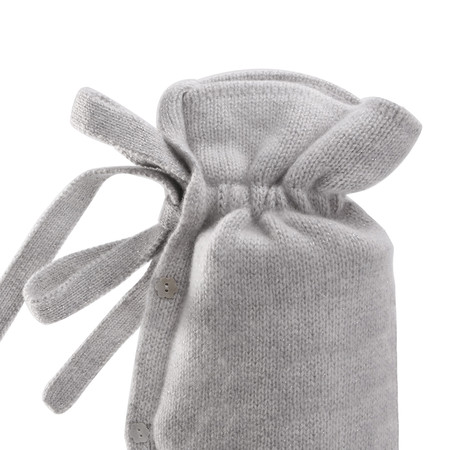 Yuyu Bottle - Classic Cashmere Knit Hot Water Bottle - Stone Glitz