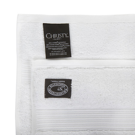 Christy - Supreme Hygro Towel - White - Guest