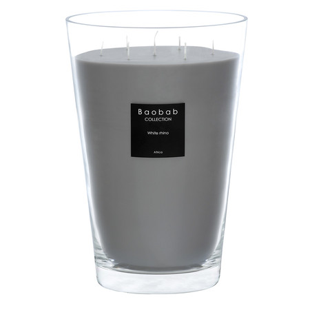 Baobab Collection - Scented Candle - White Rhino - 35cm