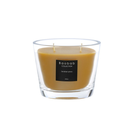 Baobab Collection - Scented Candle - Zanzibar Spices - 10cm