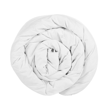 The Fine Bedding Company - Couette garnie de Plumes d'Oies à 60 % - 10,5 tog - Super King