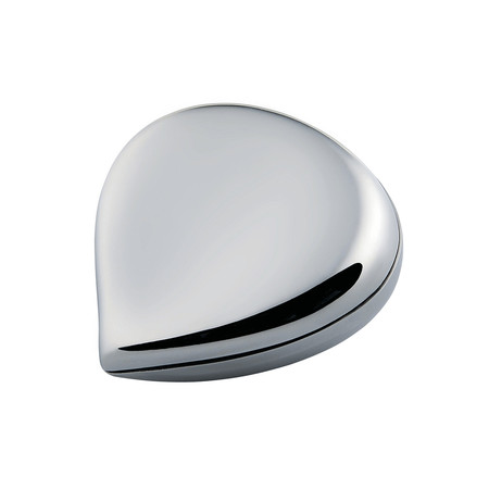 Alessi - Chestnut Pill Box - Stainless Steel