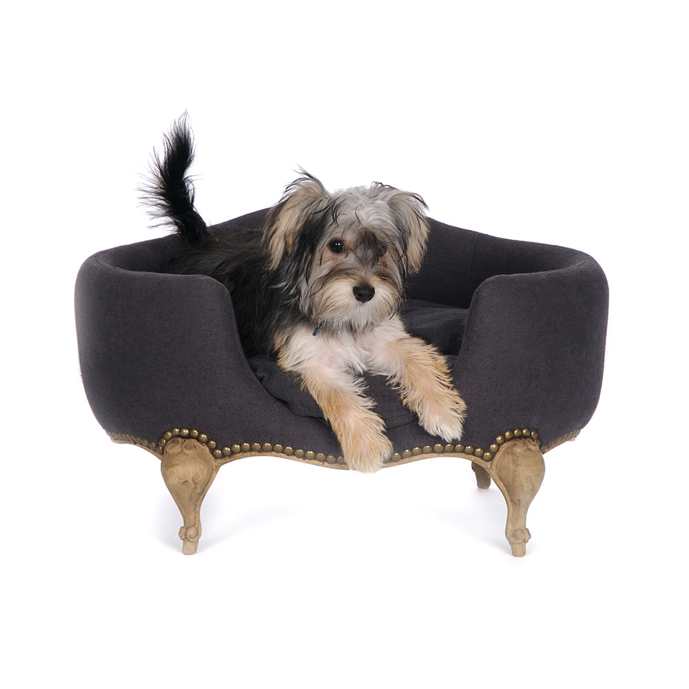 Lord Lou - Antoinette Fusilli Pet Sofa - Anthracite - M