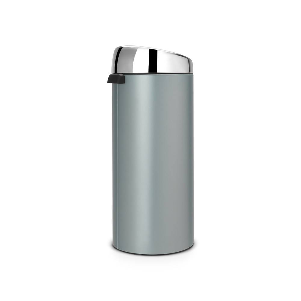 brabantia touch m lleimer 30 liter metallische minze mit gl nzendem stahldeckel kaufen amara. Black Bedroom Furniture Sets. Home Design Ideas