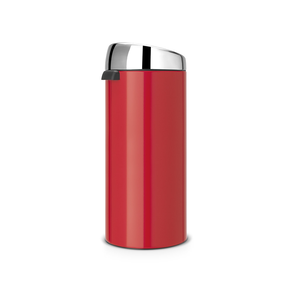brabantia touch m lleimer 30 liter passion rot mit gl nzendem stahldeckel kaufen amara. Black Bedroom Furniture Sets. Home Design Ideas