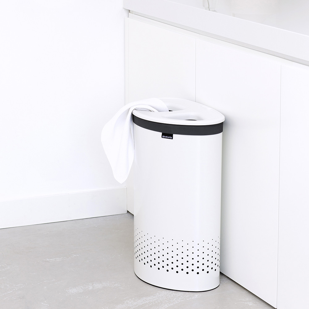 acheter brabantia panier linge selector 55 litres blanc amara. Black Bedroom Furniture Sets. Home Design Ideas