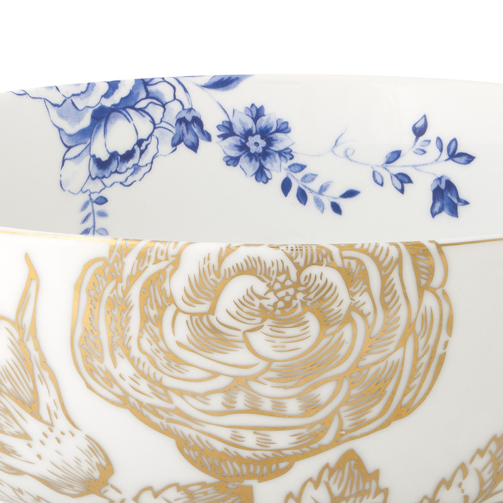 Pip Studio - Royal White Floral Bowl