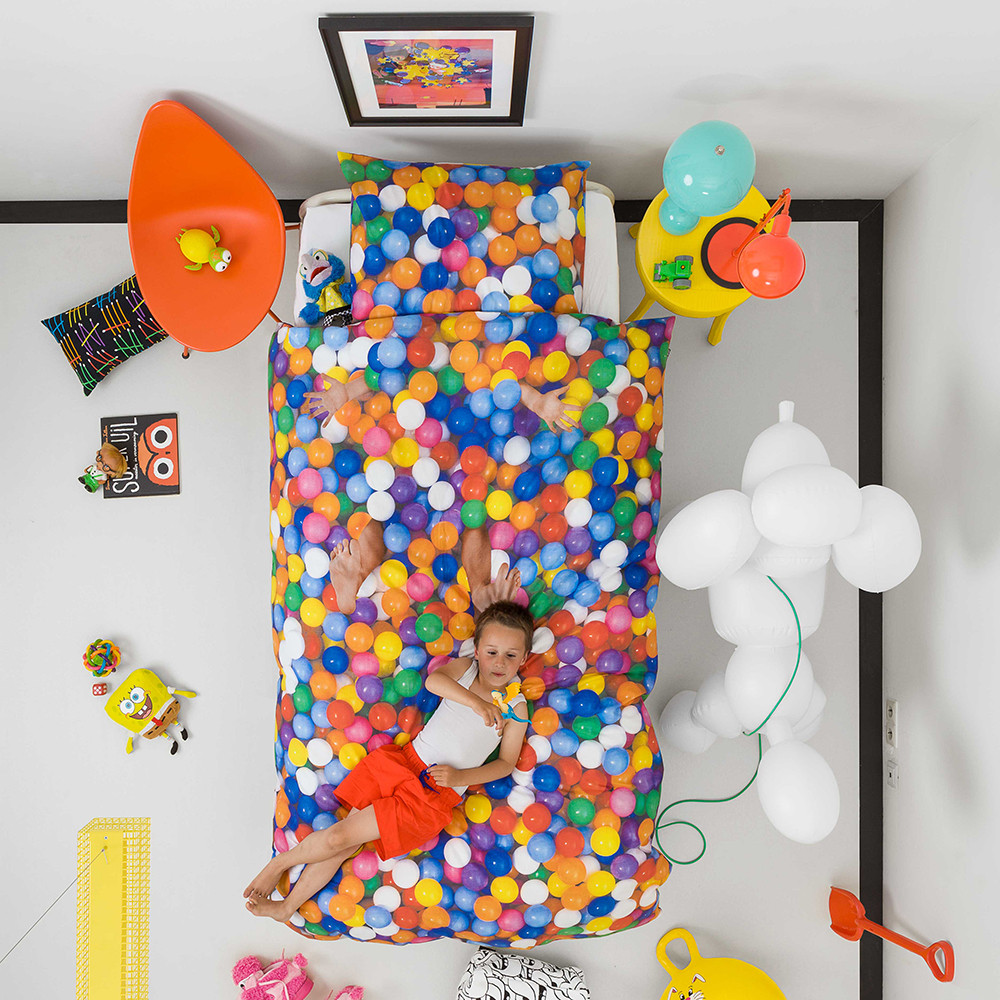 Snurk - Ball Pit Single Duvet